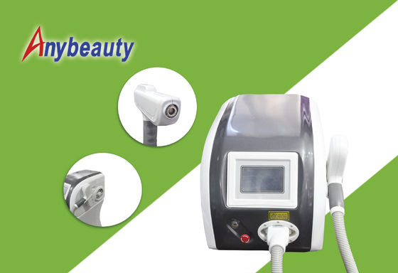 Cina Q Switched Nd Yag Laser Tattoo Removal Machine F12 Untuk Pigmen Removal pemasok