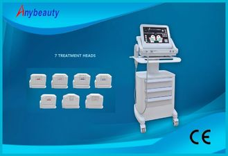 Cina HIFU High Intensity Focused Ultrasound Wrinkle Removal Machine Untuk Kulit Kencangkan pemasok