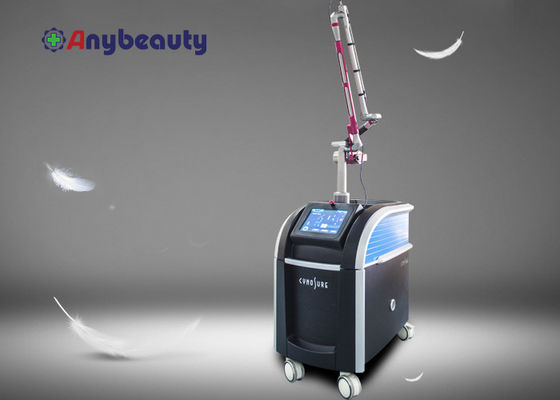 Cina 13 Bahasa Picosecond Nd Yag Laser Tattoo Removal Equipment Sertifikat FDA pemasok