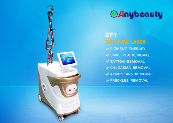 Cina Articulated Arm Picosecond Laser Tattoo Removal Machine 1064nm 532nm 755nm pemasok