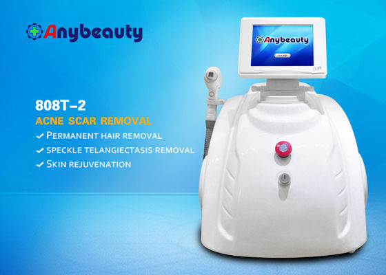 Mini 808nm Laser Beauty Machine Diode Laser Light Remover Rambut Dengan Laser Semikonduktor