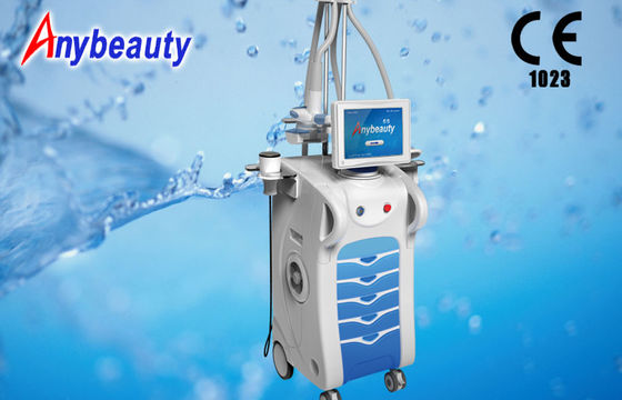 Cina Mesin Pelat Body Cavitation 1200w 10MHz, Velashape Machine pabrik